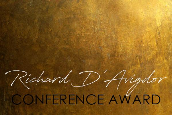 Richard D'Avigdor Conference Award