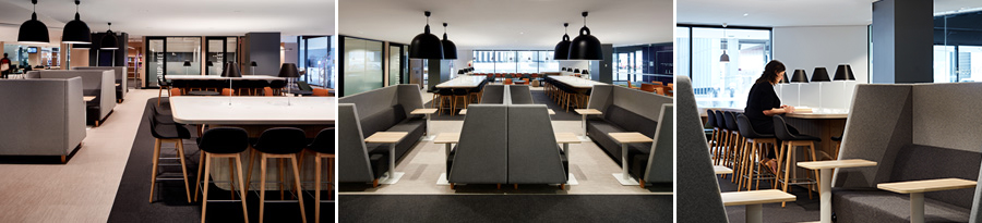 UNSW Law refurbishment - syudy desks