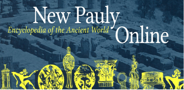 New Pauly online logo