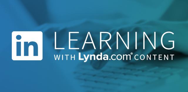 Goodbye Lynda, hello LinkedIn Learning