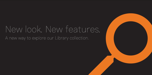 New look, new features - UNSW Library collection