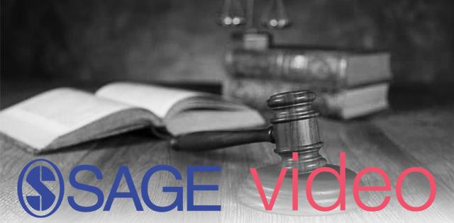 Sage Criminology & Criminal Justice Video Collection