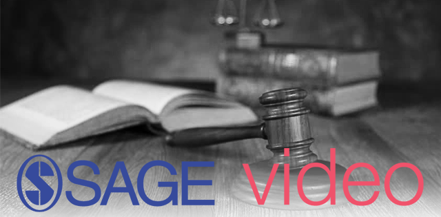 Sage Criminology & Criminal Justice Video collection