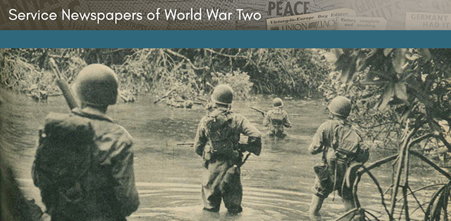 New resource - Service Newspapers of World War II