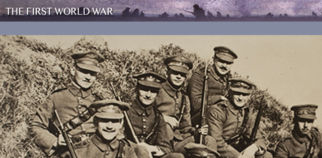 New resource - The First World War